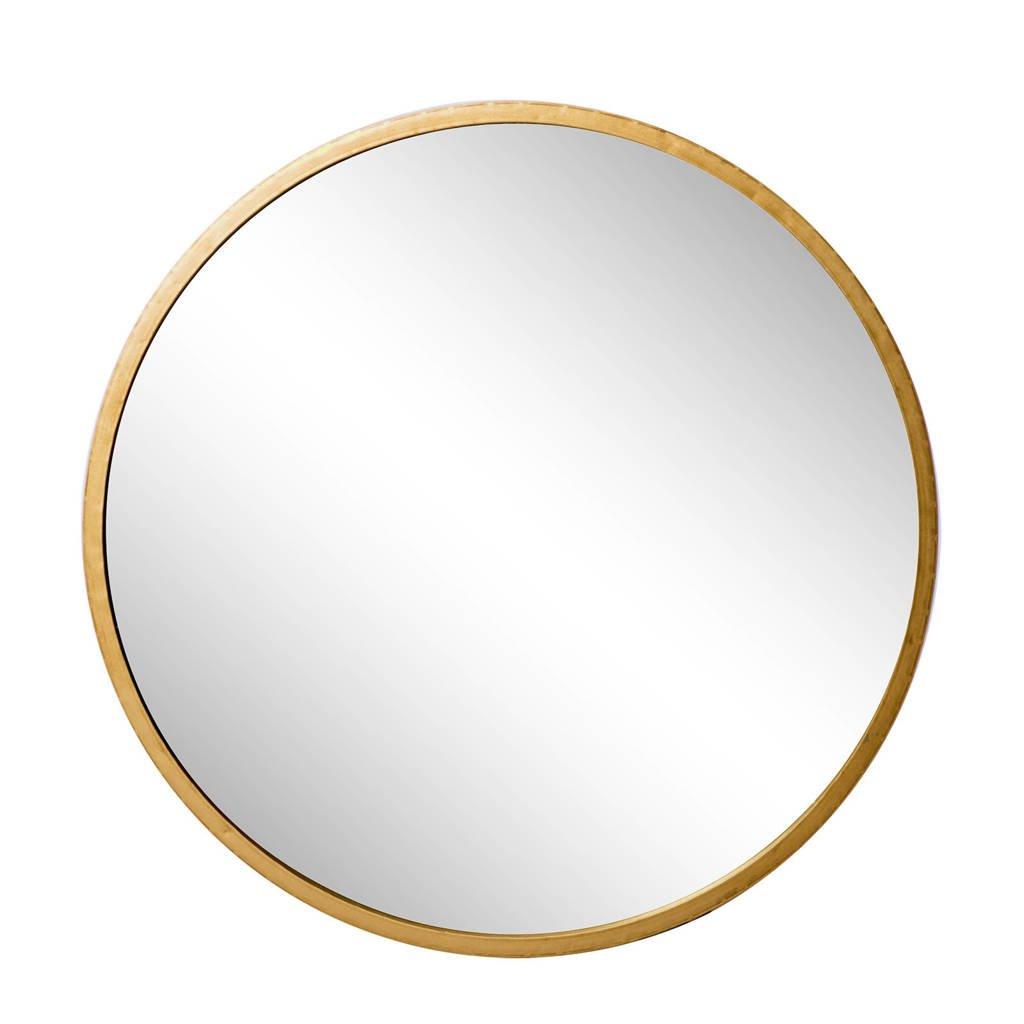 Riverdale spiegel Elwin   (Ø90 cm), Goud