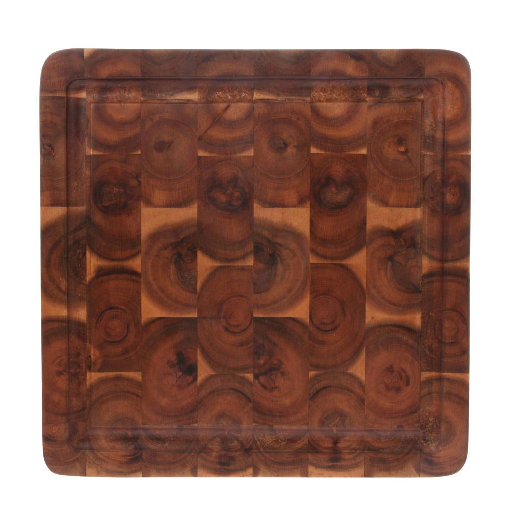 HKliving broodplank (30x30 cm), Bruin