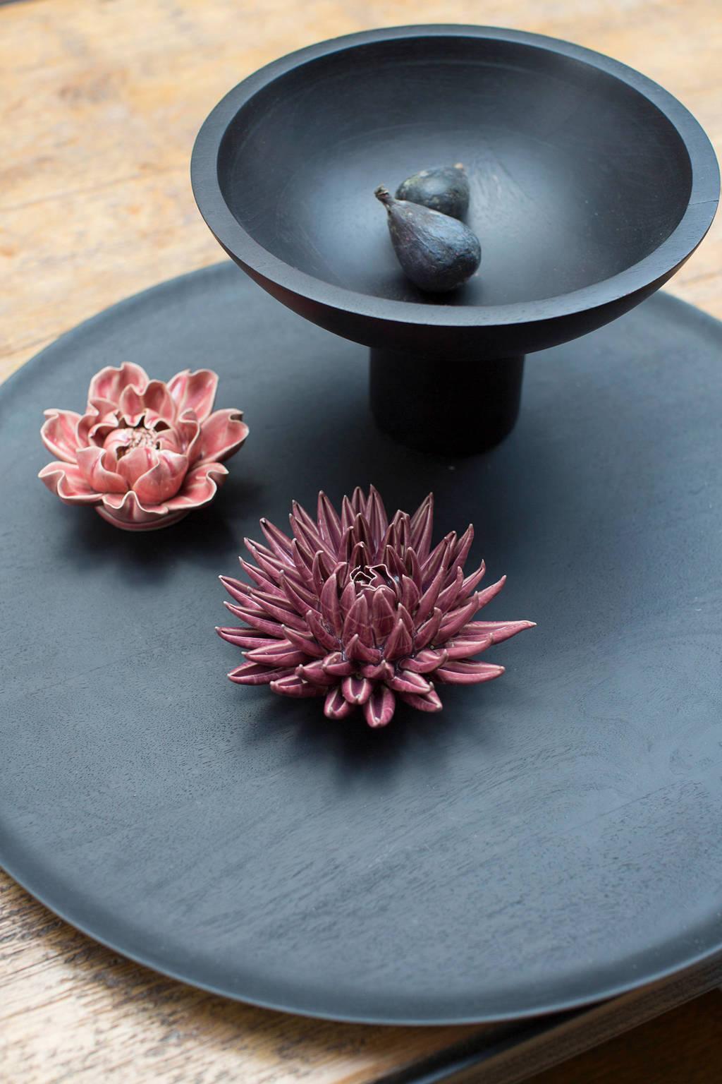 Urban Nature Culture Shizu houten serveerschaal (Ø25 cm), Bruin