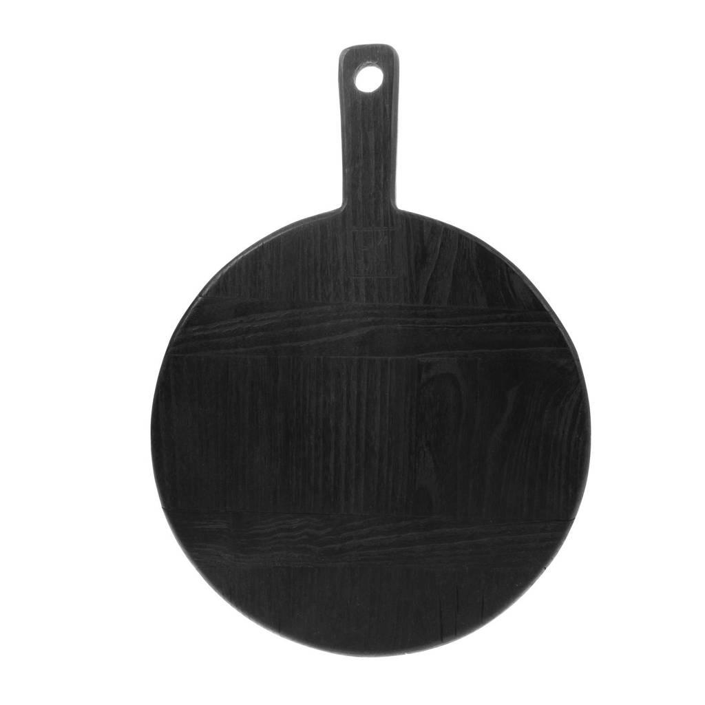 HKliving broodplank (Ø23 cm), Zwart