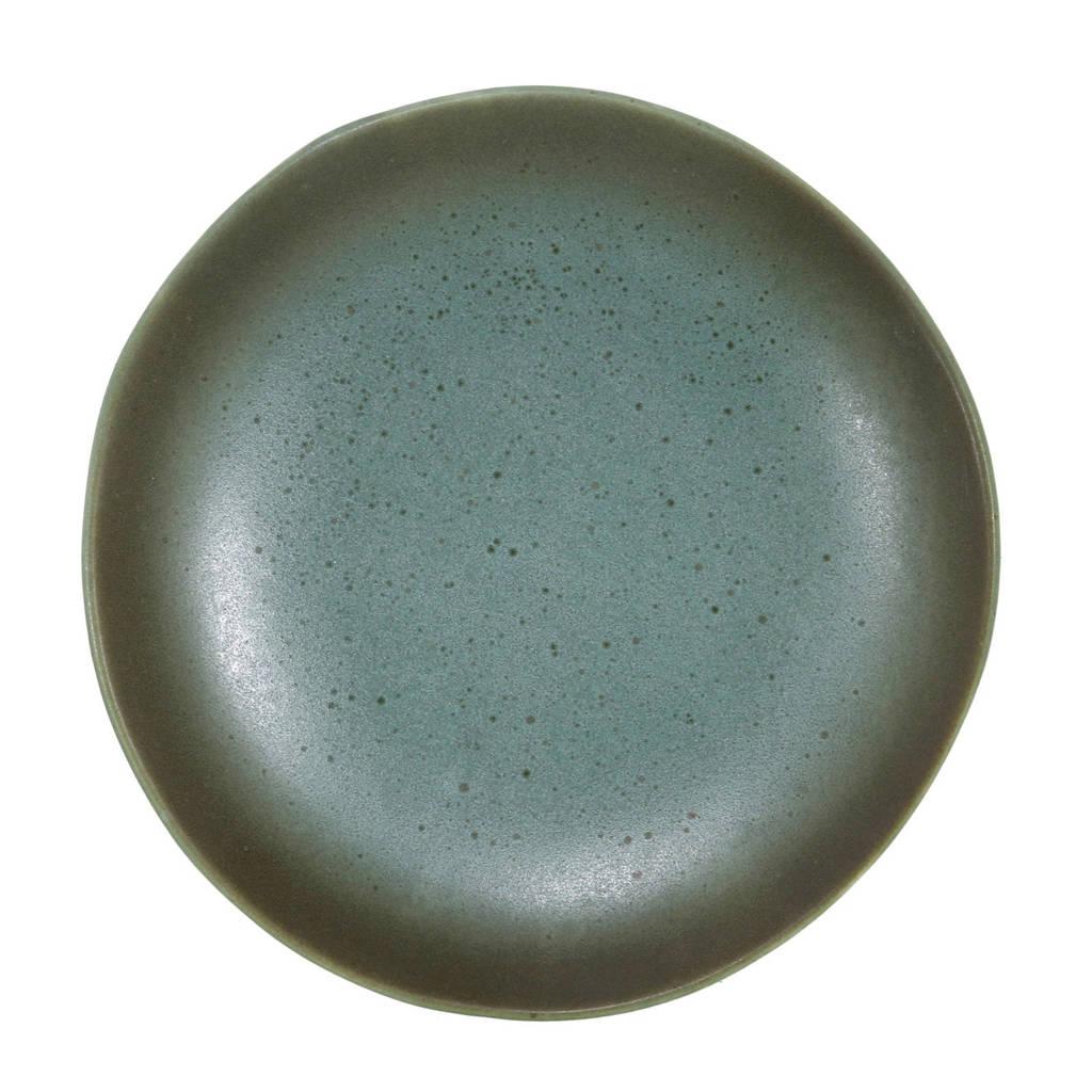 HKliving 70's gebaksbord (Ø17,5 cm), Groen