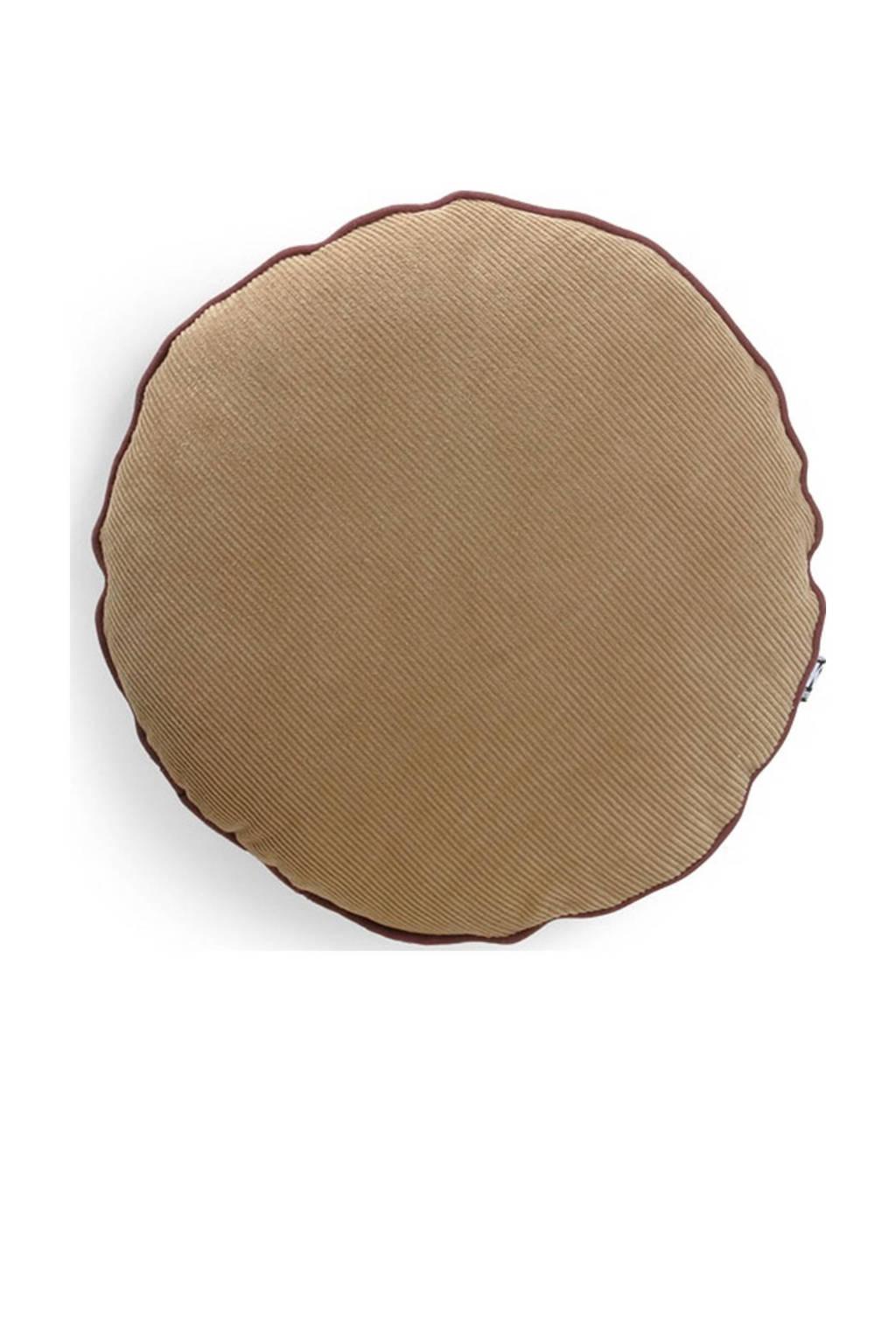 HKliving sierkussen  (Ø 40 cm), Bruin