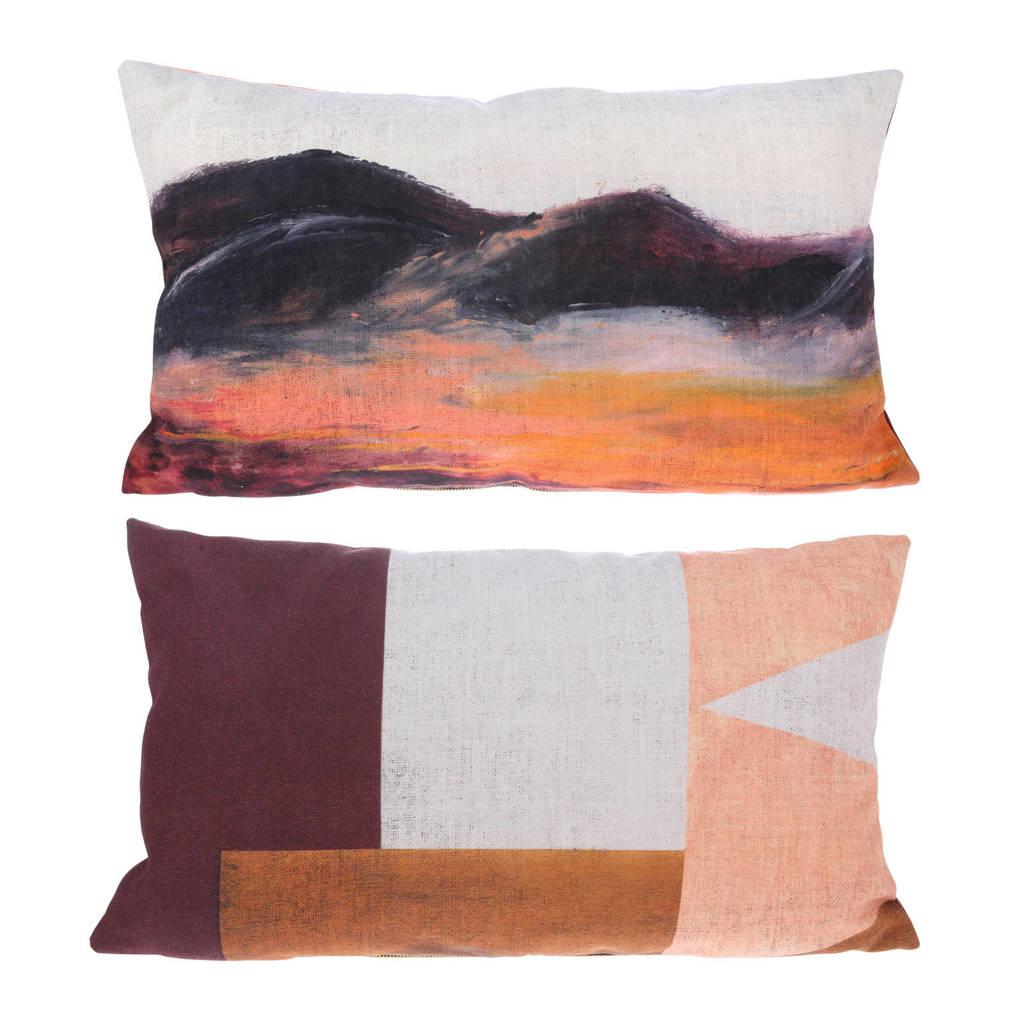 HKliving sierkussen (35x60 cm), Multicolor