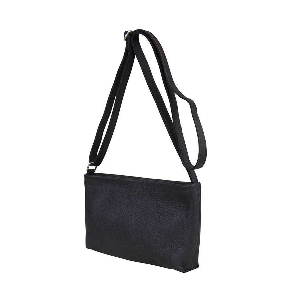 Cowboysbag  leren crossbody tas Rife, 100 - Black