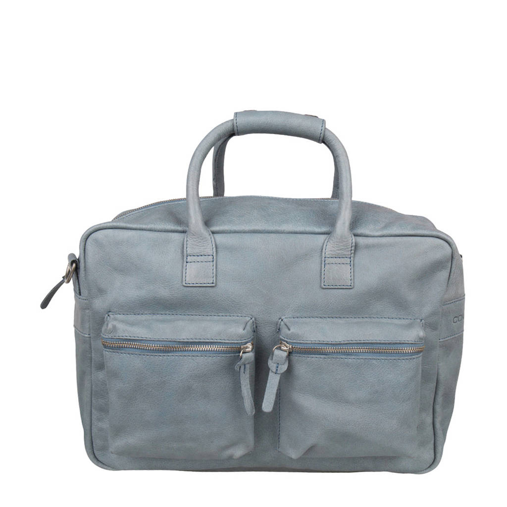 Cowboysbag  leren tas The Bag 885 - Sea Blue