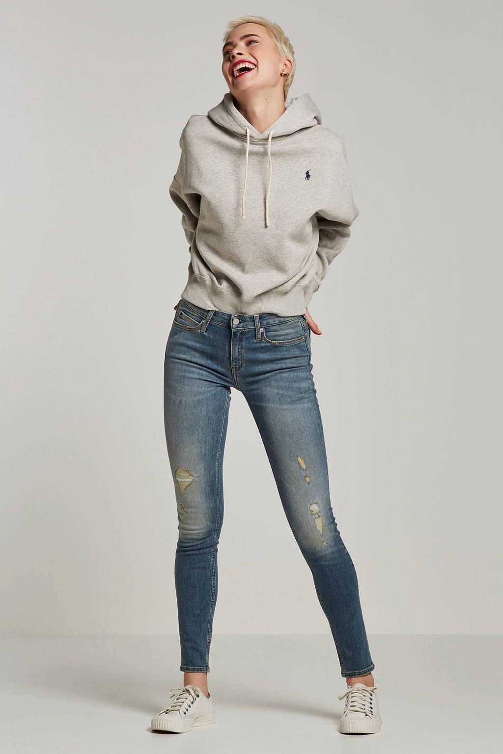 Calvin Klein Jeans skinny fit jeans blauw, Blauw