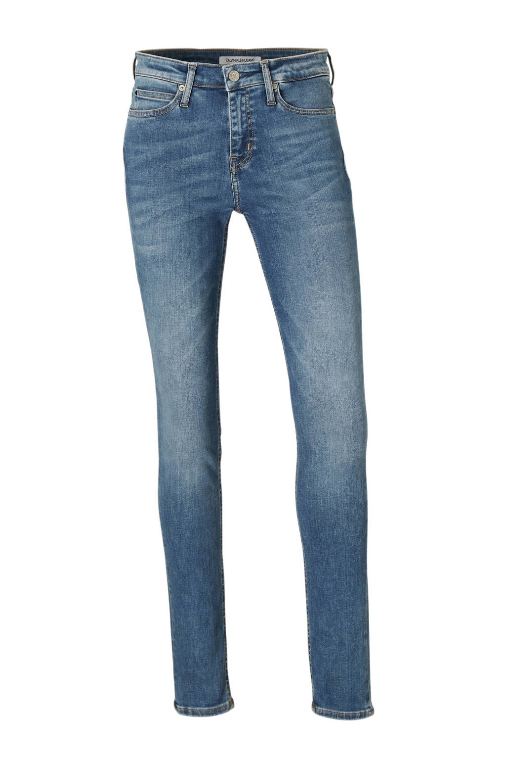 Calvin Klein Jeans skinny fit jeans, Blauw