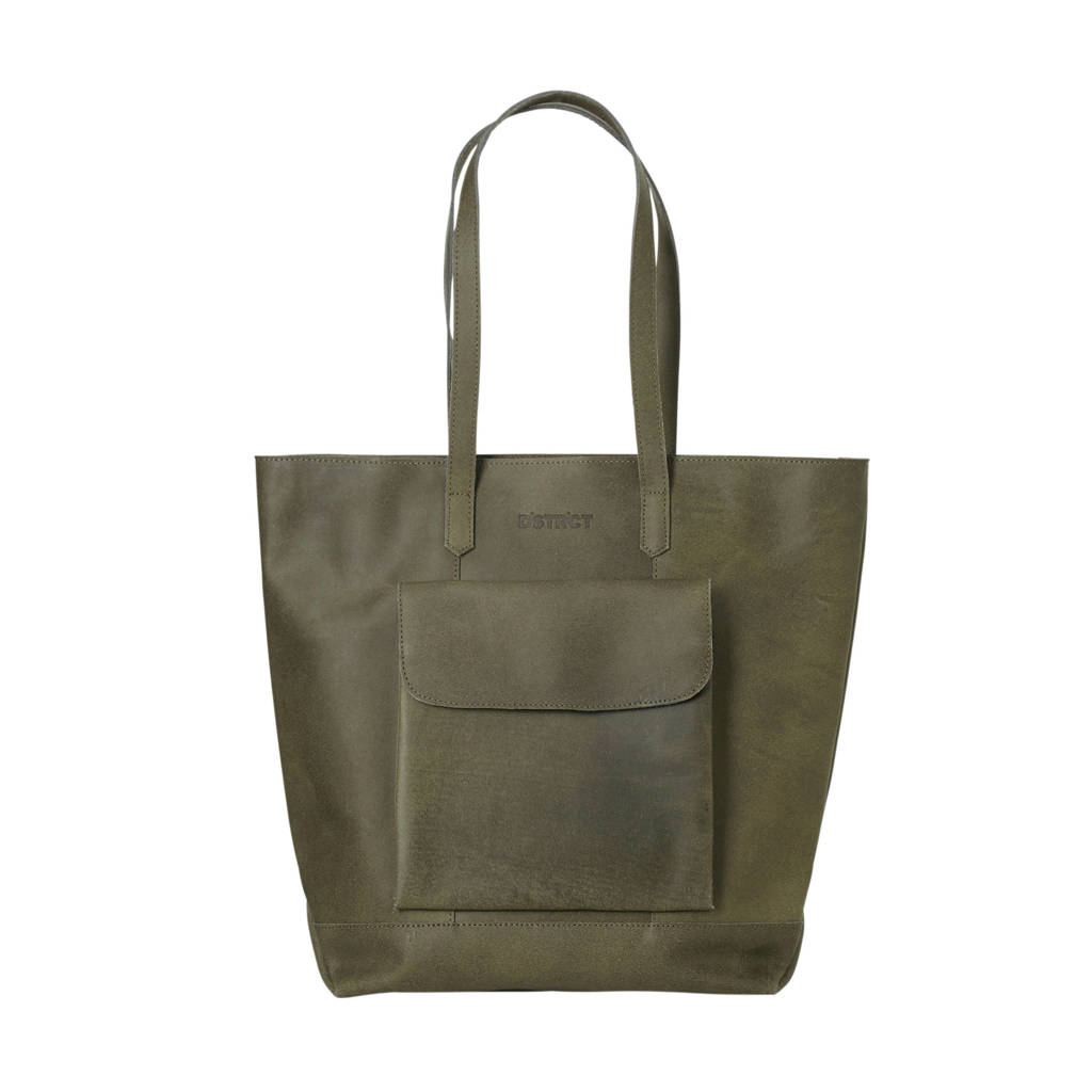 DSTRCT Riverside Shopper Front Pocket, Grijs