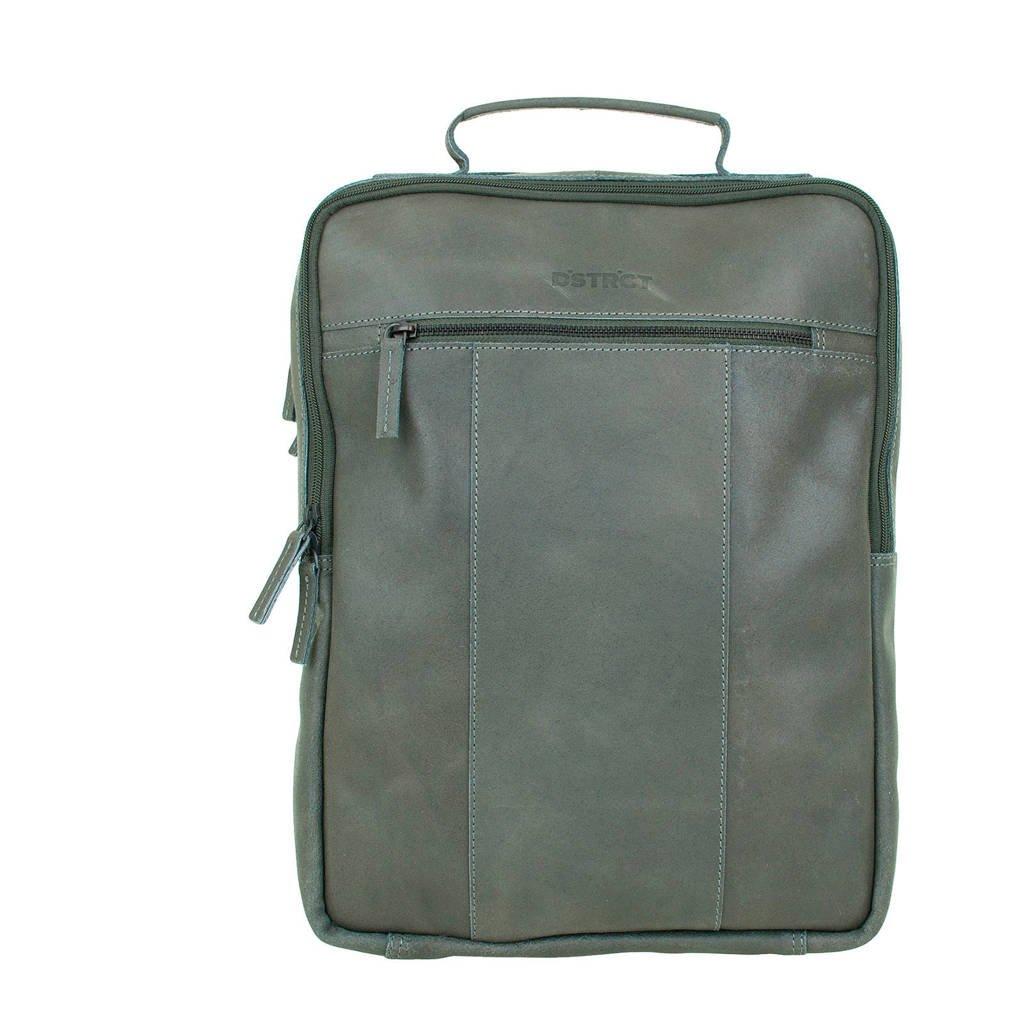 DSTRCT Riverside 15,6 inch laptoptas rugzak, Grijs