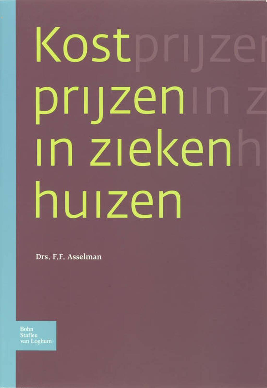 Kostprijzen in ziekenhuizen - F. Asselman
