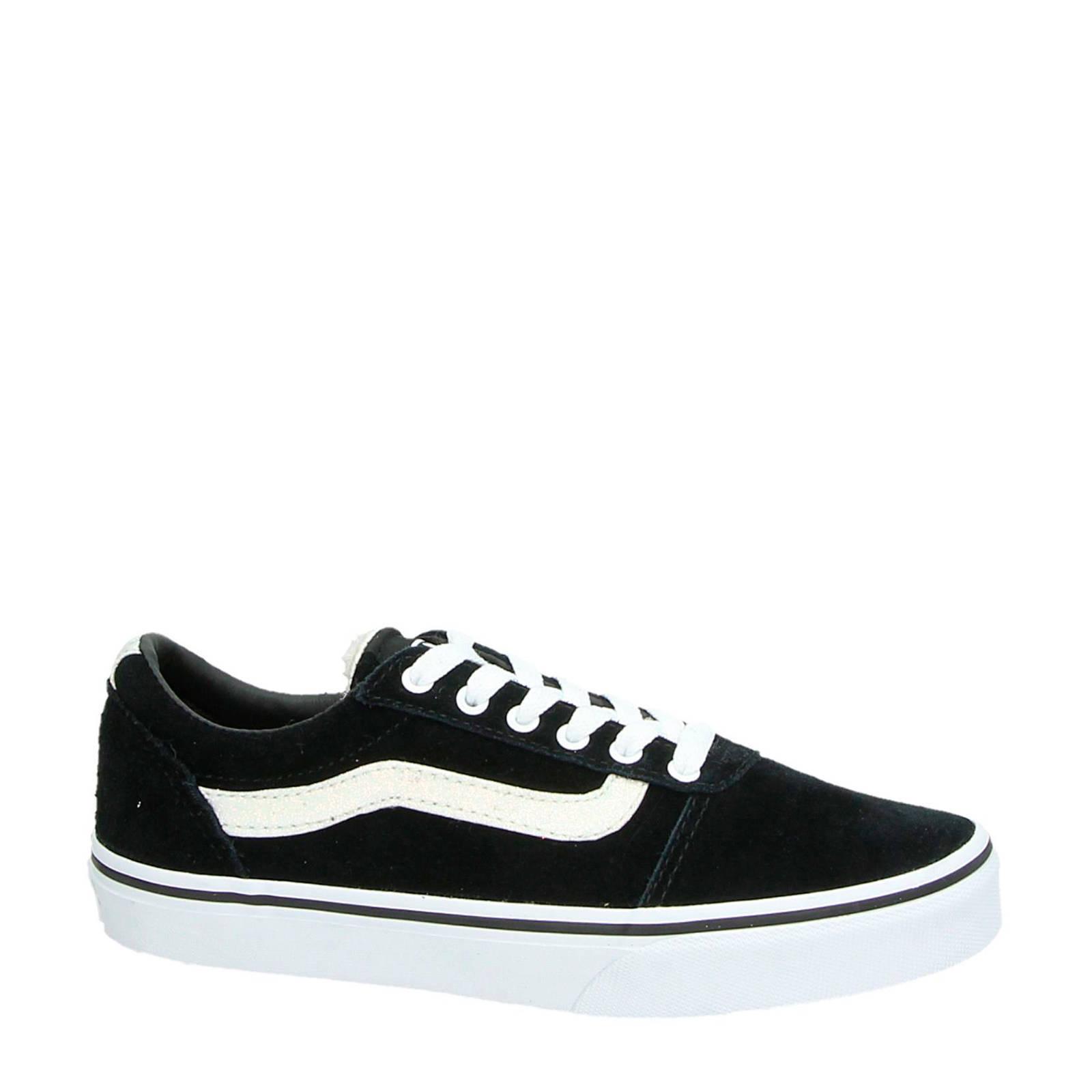 VANS suède sneakers zwart (meisjes)