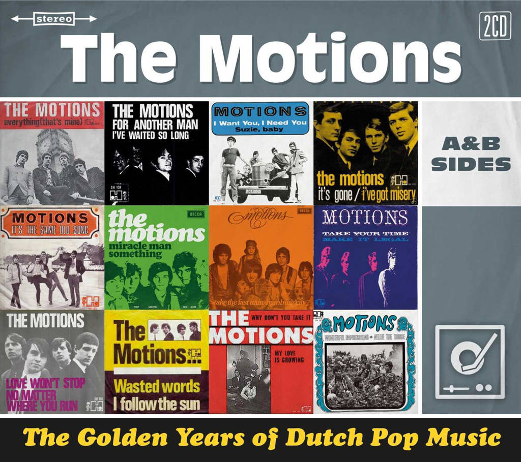 The Motions - Golden Years Of Dutch Pop Music (CD)
