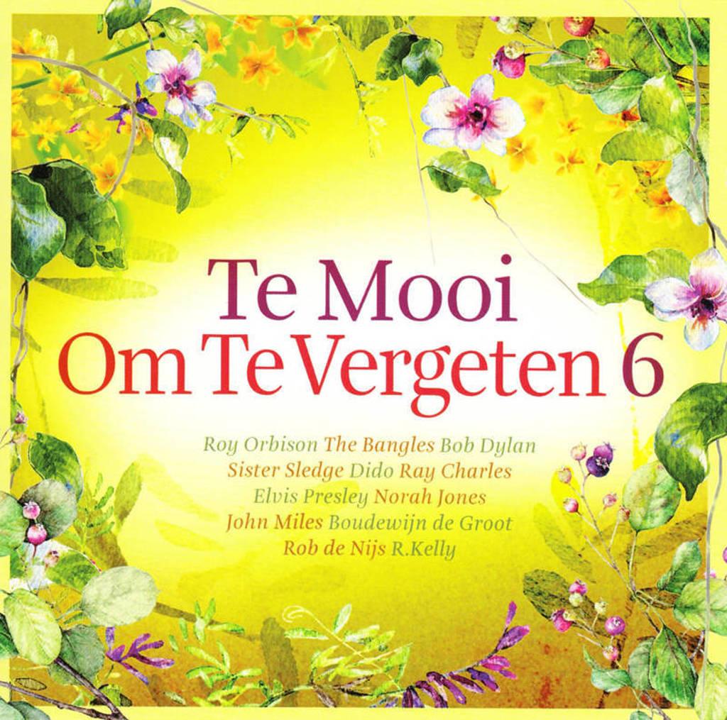 Various Artists - Te Mooi Om Te Vergeten 6 (CD)