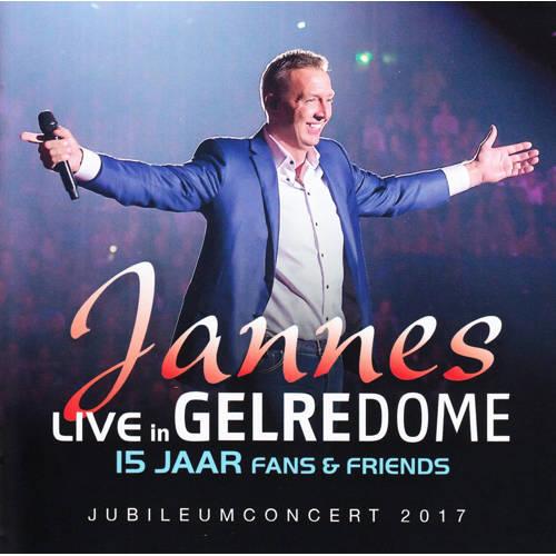 Jannes - Live in Gelredome 15 jaar fans & friends (CD) kopen