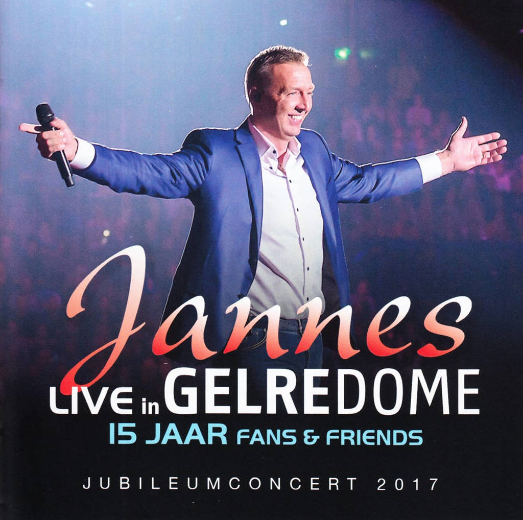 Jannes - Live in Gelredome 15 jaar fans & friends (CD)