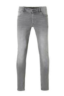 WE Fashion Blue Ridge skinny fit jeans grijs (heren)