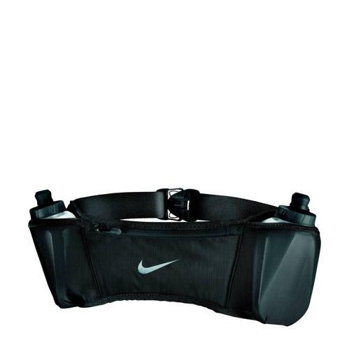 Nike heuptas Double Pocket Belt 20OZ 2.0 zwart kopen