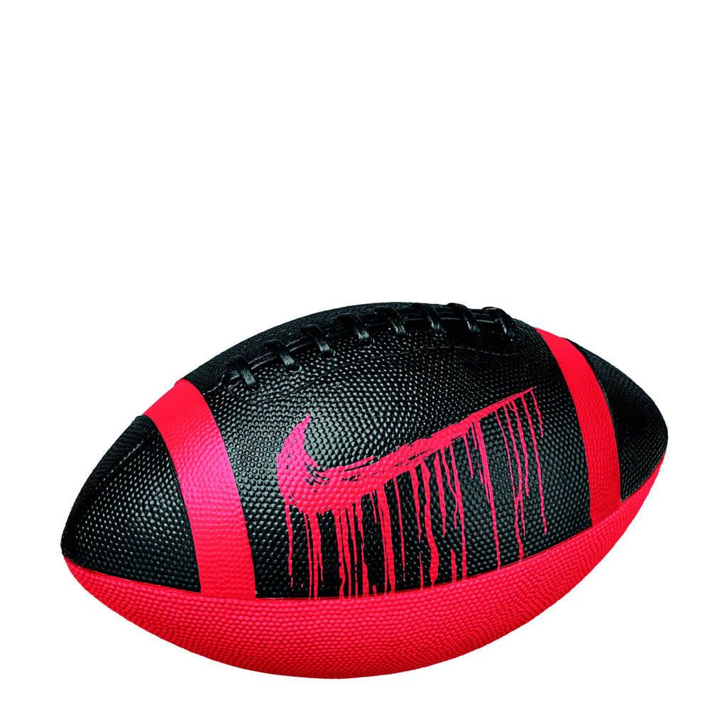 Nike American football Spin 4.0, Rood/zwart