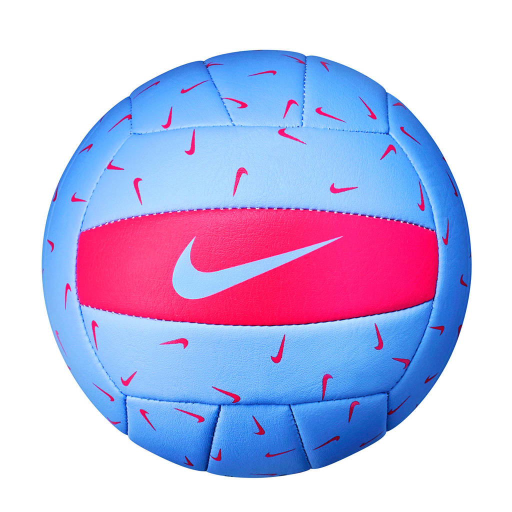 Nike volleybal Skills mini blauw, Blauw/roze