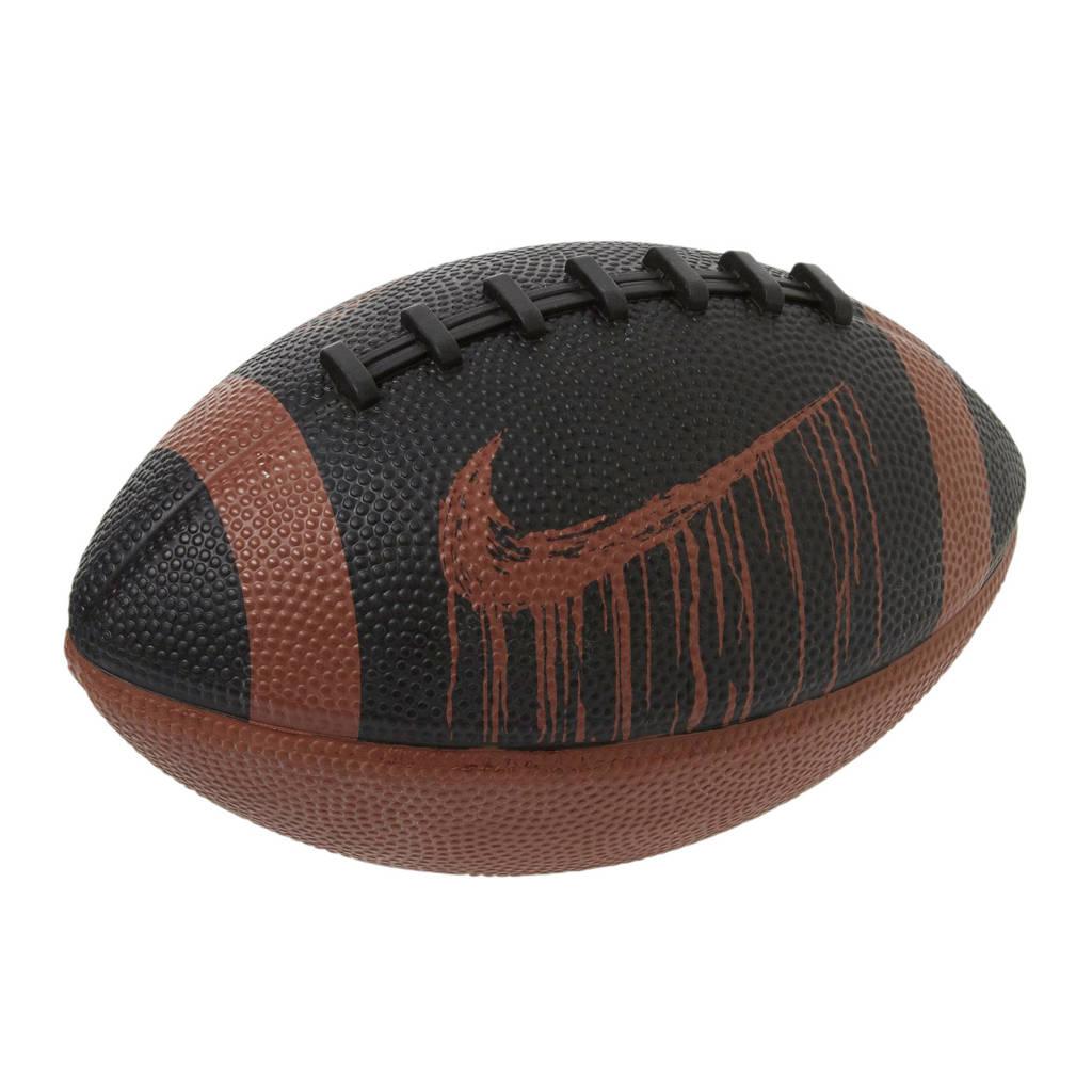 Nike American football Mini Spin 4.0, Bruin/zwart