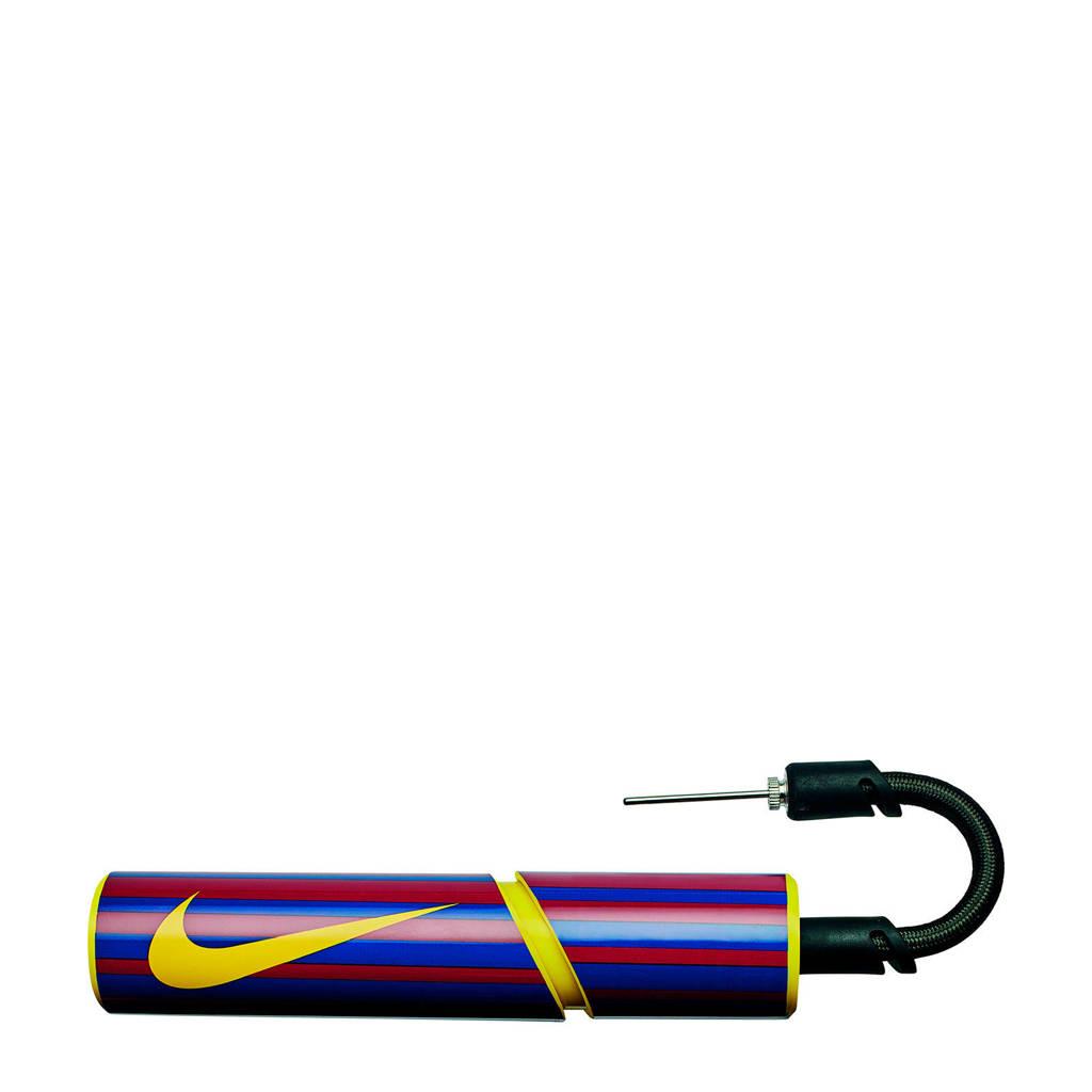 Nike ballenpomp Essential blauw/rood/geel, Blauw/rood/geel