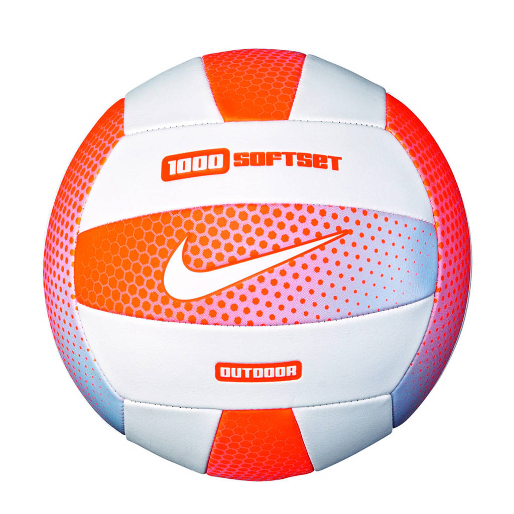 Nike Equipment 1000 Outdoor Volleyball 18P, Oranje/wit