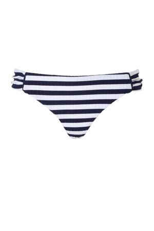 bikinibroekje in een streepdessin marine