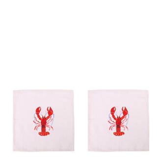 Lobster servet (35x35 cm)