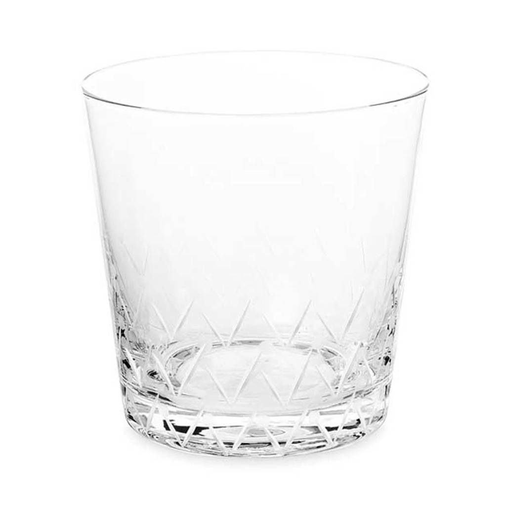Designed for Living Lemon Grass waterglas (Ø9 cm), Glas