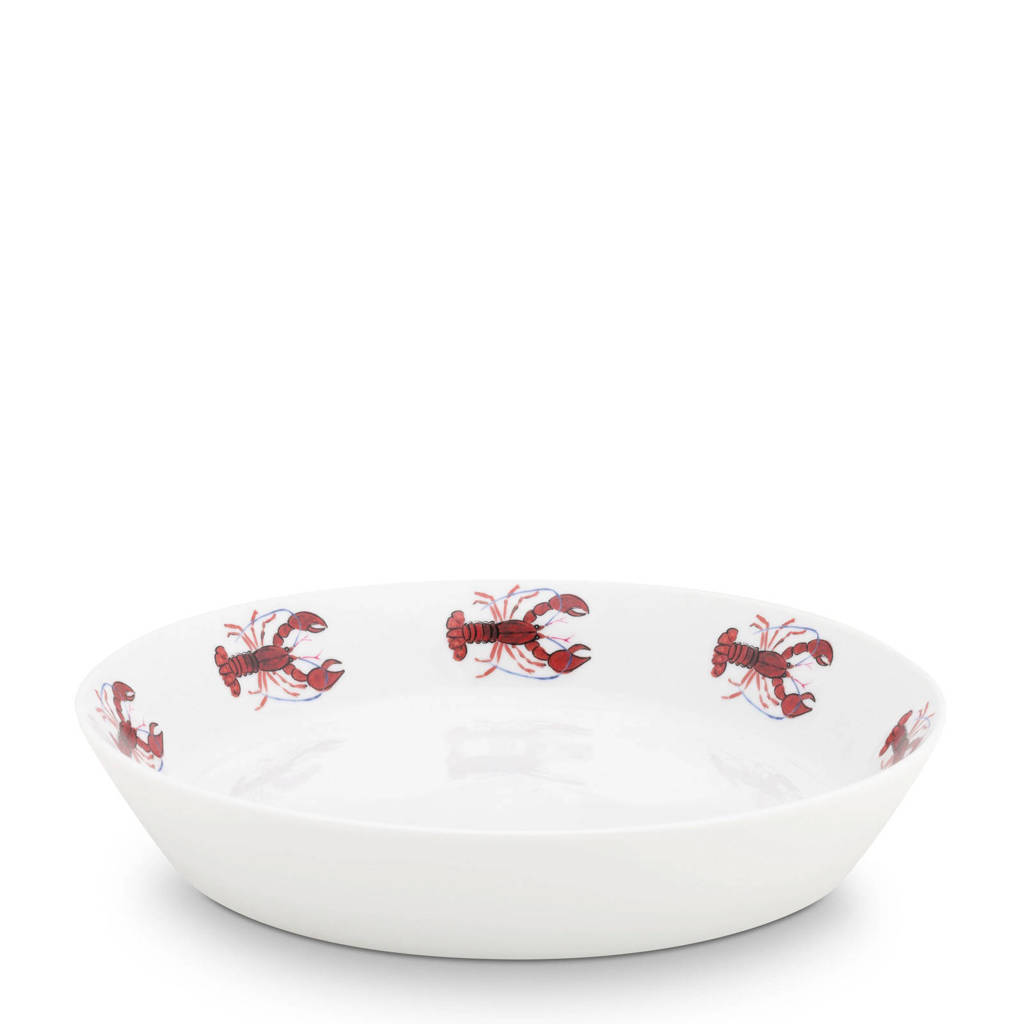 Fabienne Chapot Lobster pastabord (Ø21,5 cm), Roze
