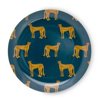 Cheetah ontbijtbord (Ø21,5 cm)