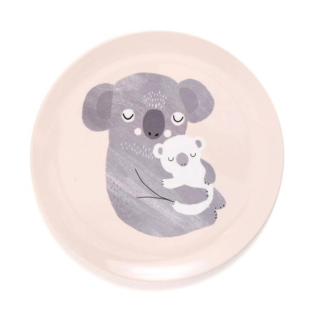 Petit Monkey melamine bord (Ø20,3 cm), Bord