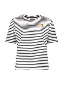 Sissy-Boy T-shirt met borduursel zwart