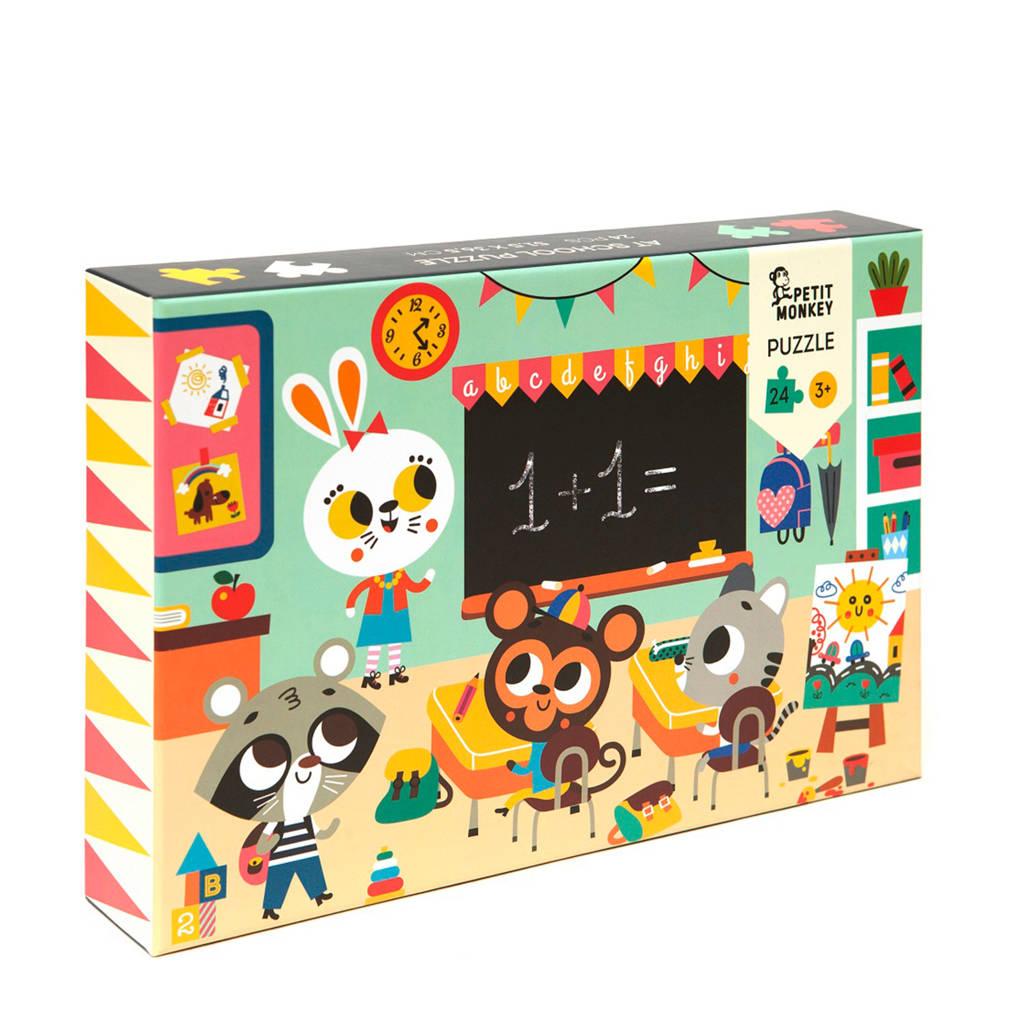 Petit Monkey   legpuzzel 24 stukjes