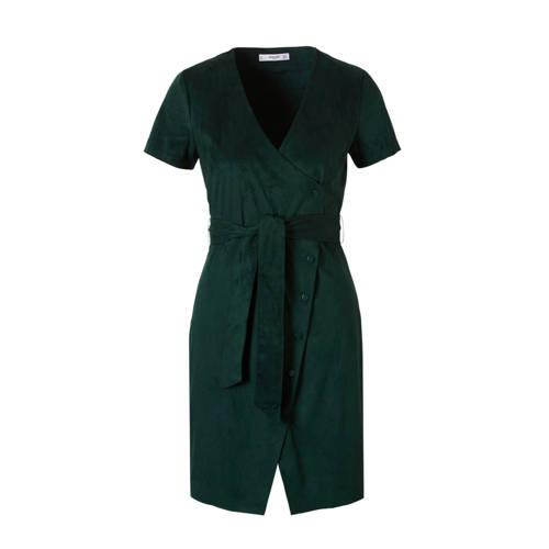 Mango suèdine jurk met overslag groen, Dames jurk met overslag van Mango Casual, uitgevoerd in een suèdine kwaliteit. Het model is voorzien van korte mouwen, V- hals, strik om de taille, bandplooien aan de voorkant en een knoopsluiting aan de voorkant. Lengte: 89 cm (maat S).Extra gegevens:Merk: MangoKleur: GroenModel: Jurk (Dames)Voorraad: 4Verzendkosten: 0.00Plaatje: Fig1Plaatje: Fig2Maat/Maten: XSLevertijd: direct leverbaarAantal reviews: 1Gemiddelde rating: 5.00Aanbiedingoude prijs: € 49.99