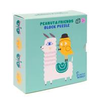 Petit Monkey blokpuzzel (9-delig)  blokpuzzel 6 stukjes