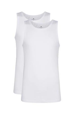 hemd wit (set van 2)