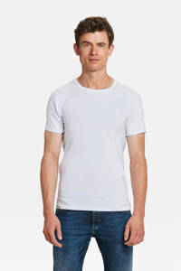 WE Fashion Fundamentals T-shirt wit - set van 2, Wit