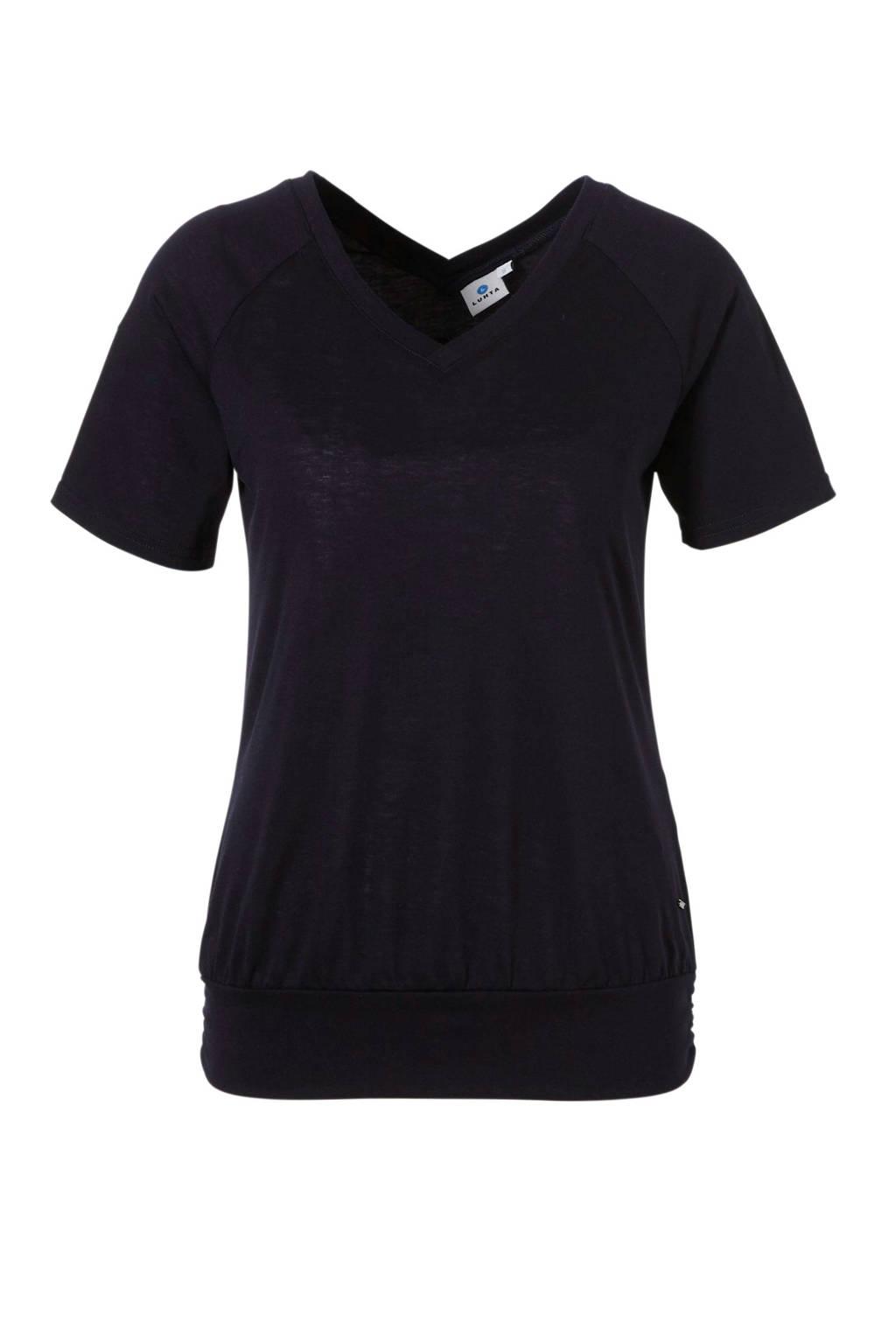 Luhta T-shirt donkerblauw, Donkerblauw