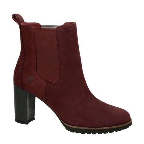 Timberland suède chelsea boots Leslie Anne bordeaux