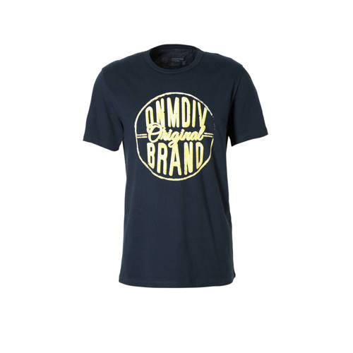 T-shirt met printopdruk marine