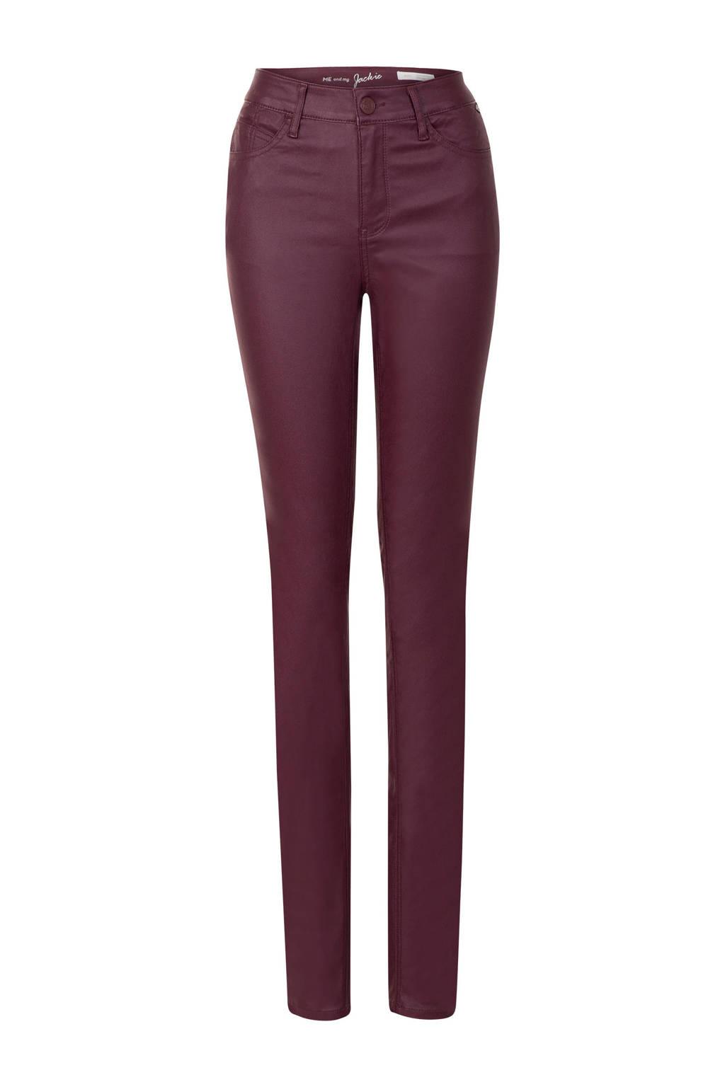 Miss Etam Lang 5-pocket broek paars, Paars