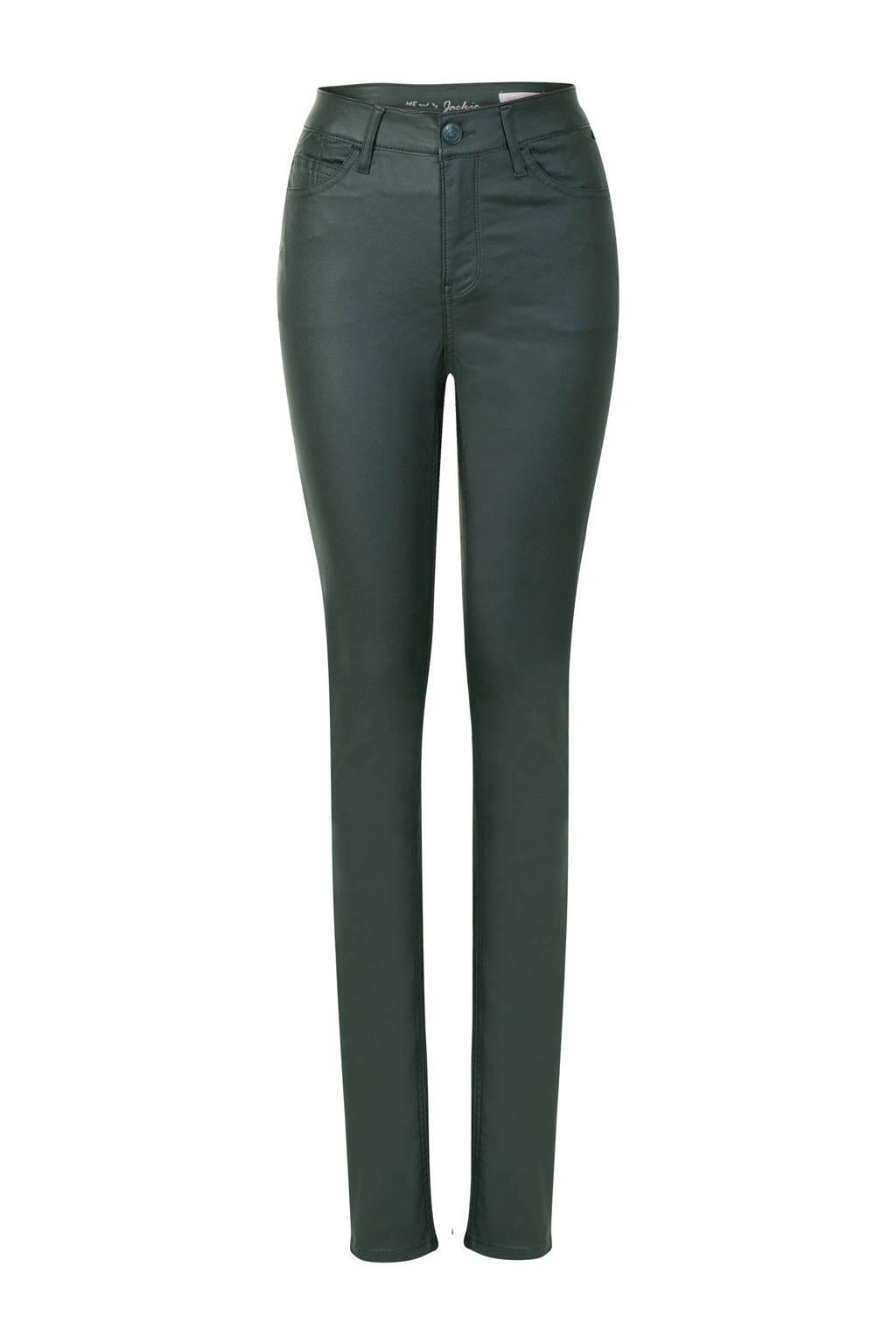 Miss Etam Lang 5-pocket broek donkergroen, Donkergroen