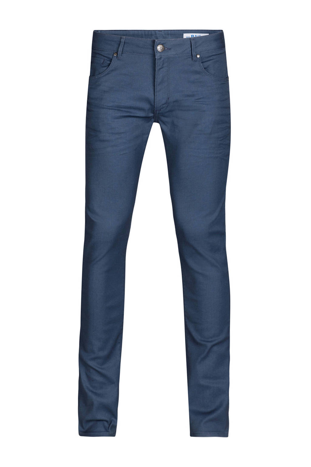 WE Fashion Blue Ridge tapered fit jeans, Blauw