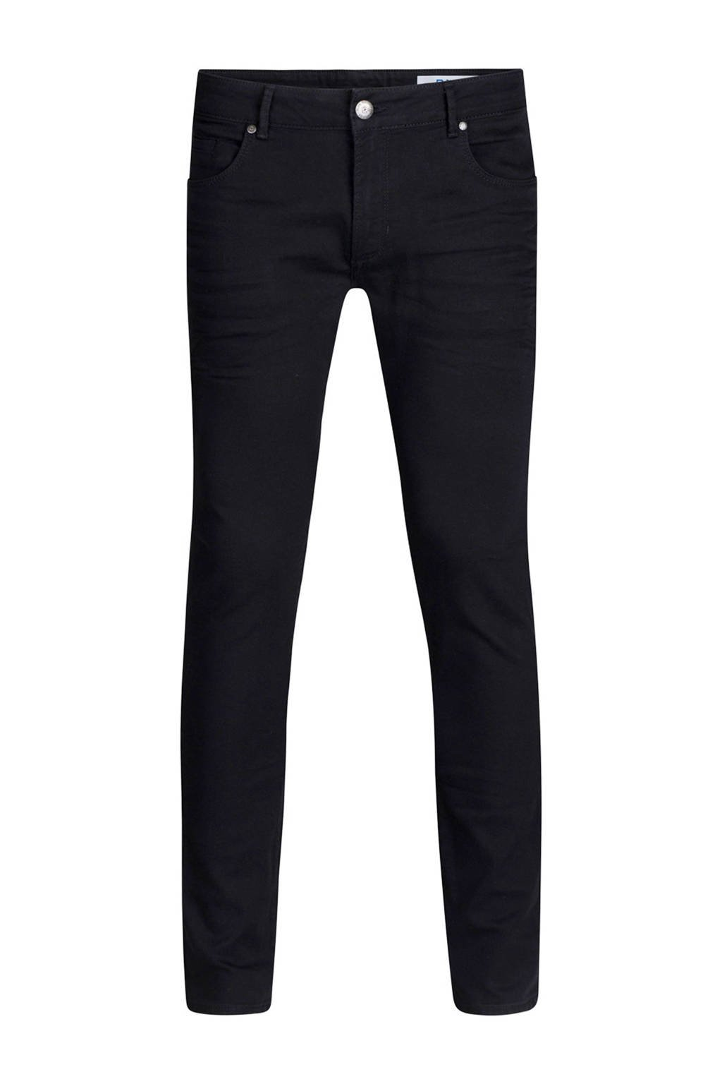WE Fashion Blue Ridge  tapered tapered fit jeans, Zwart