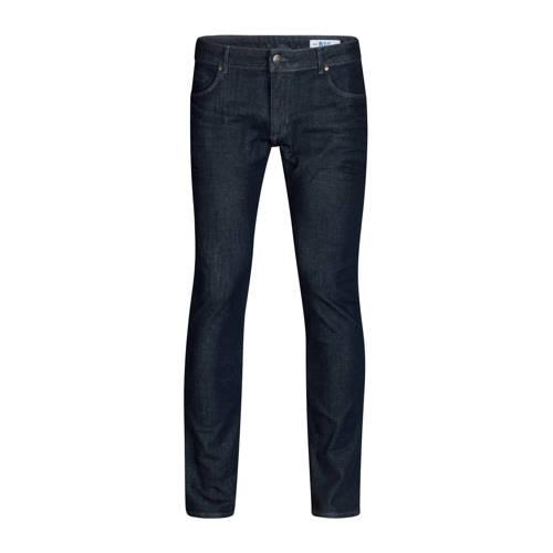 WE Fashion Blue Ridge tapered fit jeans dark denim