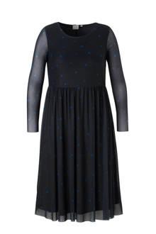 jurk met stippen