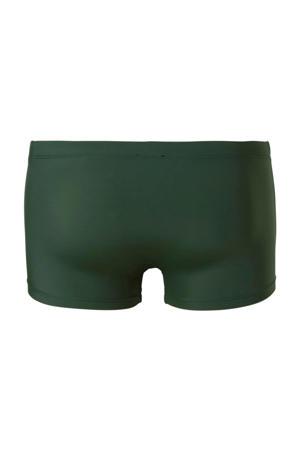 Beach zwemboxer met merknaam groen