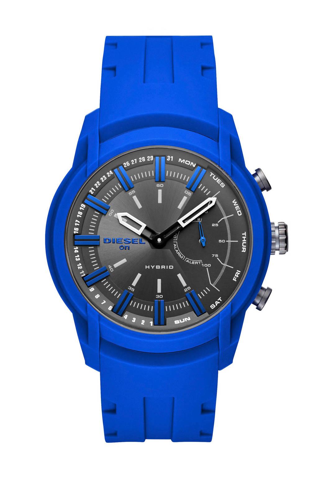 Diesel hybrid smartwatch Armbar DZT1017, Blauw