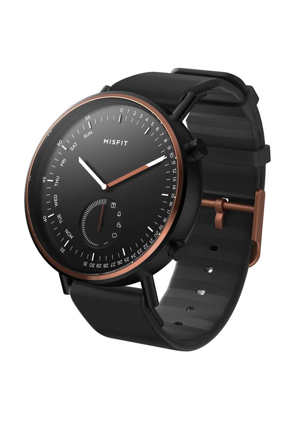 Misfit hybrid smartwatch Mammoth MIS5019, Zwart